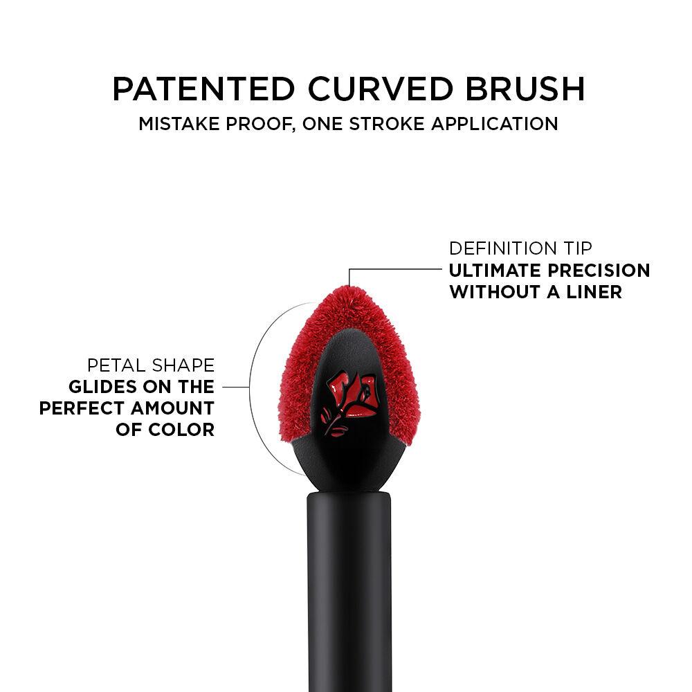 L'Absolu Rouge Drama Ink Liquid Lipstick(金纯玫瑰超级液体唇膏)